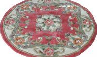 Десен 510 пинк кръг - размери: 140/140 - 110 лв.; 200/200 - 220 лв.