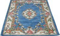 Десен 510 син правоъгълен - размери: 183/274 - 399 лв.; 230/320 - 590 лв.; квадрат - размер: 245/245 - 480 лв.